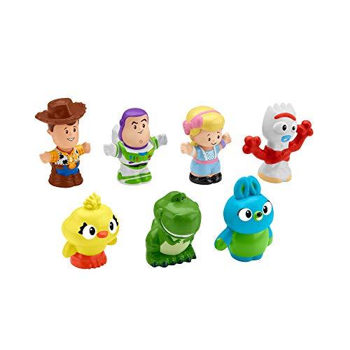 41J cB VinL - Toy Story Disney 4, 7 Friends Pack by Little People