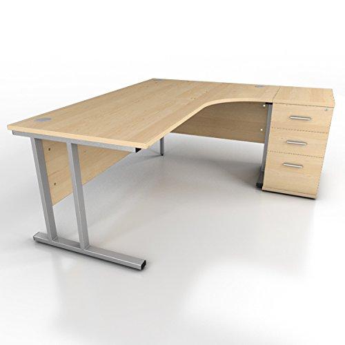 Icarus mobiliario de Oficina Cantilever (Mano Derecha, Pierna ...