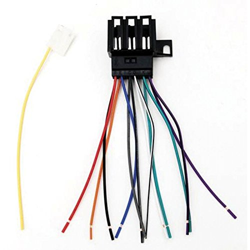 Eckler's Premier Quality Products 33151175 Camaro Car Stereo Adapter Wiring Harness by Premier Quality Products