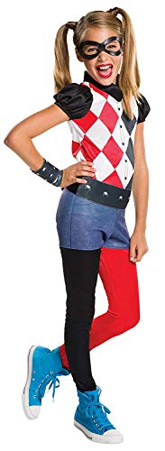 Rubie's Costume Kids DC Superhero Girls Harley Quinn Costume, Large]()