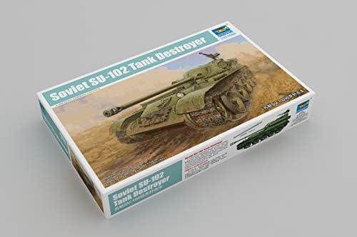 トランペッター 1/35 ソビエト軍 SU-102自走砲 プラモデル 09570