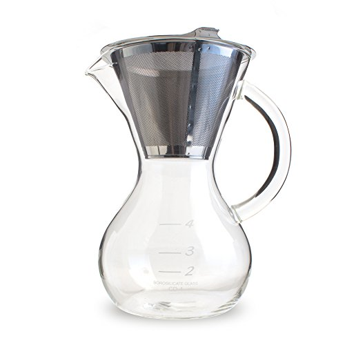 Yama Hermiston Pot with Stainless Cone Filter (20oz)