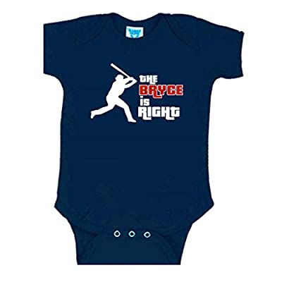 "Bryce Harper Washington Nationals ""The Bryce Is Right"" Baby 1 piece"