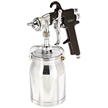 Astro Pneumatic AS7SP Spray Gun with Cup, Black Handle, 1.8mm Nozzle