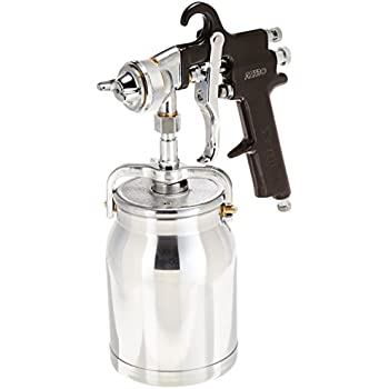 Astro AS7SP Spray Gun with Cup, Black Handle, 1.8mm Nozzle