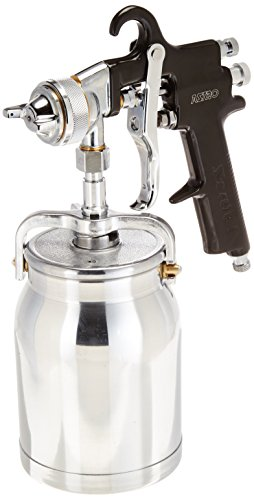 (Astro AS7SP Spray Gun with Cup, Black Handle, 1.8mm Nozzle)