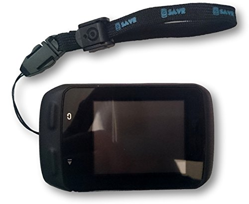 (G-SAVR Lanyard/Tether/Leash, for Your Garmin Edge 200, 500, 510, 520, 800, 810, 1000, Also for Wahoo, Polar, Lezyne, Cateye, Sigma or Any Other Cycling Bike GPS)