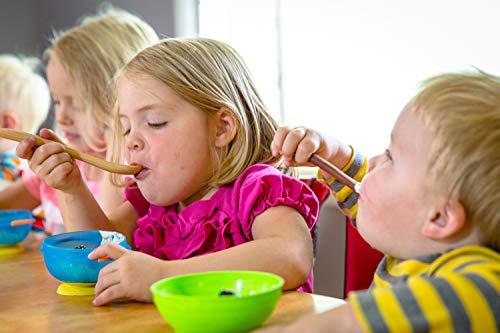Wood Toddler Spoon, 7 in Handmade Wooden Baby Spoon, Hardwood and Heirloom Quality, A Keepsake Wood Feeding Spoon - Jatoba by Earlywood (Image #7)