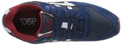Tiger H4A4N 5010 - Zapatillas de running para hombre Azul Marino