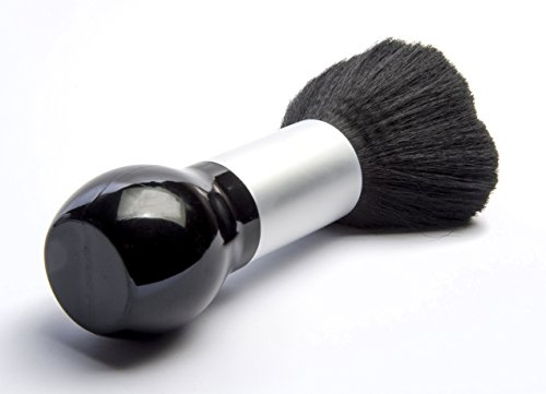 Diane D9851 Soft Nylon Bristle Large Barber Neck Duster Black And Gold