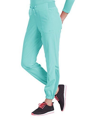 Moonlight Apparel - Fit by White Cross Women's Jogger Scrub Pant Large Moonlight Jade