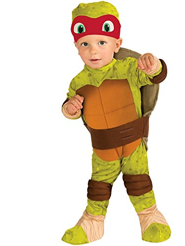 Nickelodeon Ninja Turtles Raphael Romper Shell and Headpiece, Green, Toddler -