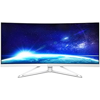 philips computer monitors 349x7fjew 34 curved monitor 21 9 aspect 3440x1440 res. Black Bedroom Furniture Sets. Home Design Ideas