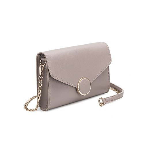 Stylish For Strap Crossbody Leather Women Vegan Luxury Melie Bags Taupe Bianco Shoulder Flap Front Design Ywaxpq