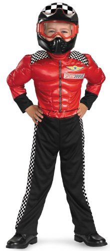 [Disguise Turbo Racer Toddler Costume, 3T-4T] (Race Car Driver Kids Costumes)