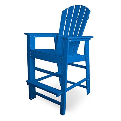 - POLYWOOD SBD30PB South Beach Bar Chair, Pacific Blue