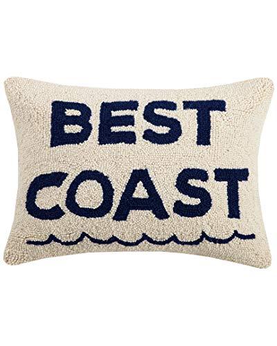 - Peking Handicraft Best Coast Hook, 14X18 Throw Pillow