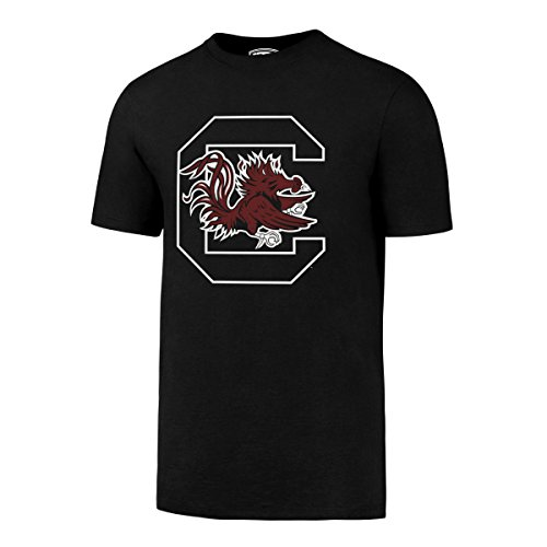 OTS NCAA South Carolina Fighting Gamecocks Men's Rival Tee, Large, Jet Black South Carolina Football