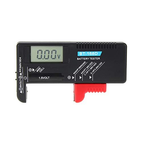 (Horoshop Digital Battery Capacity Tester LCD for 9V 1.5V AA AAA Cell C D Batteries)