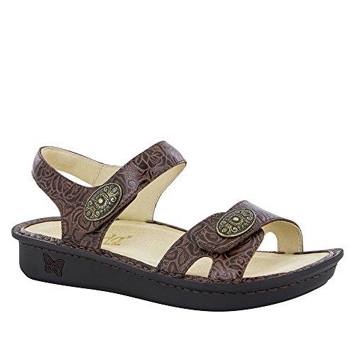 Alegria Womens Vienna Sandal Cowgirl Tobacco Size 36 EU (6-6.5 M US Women)