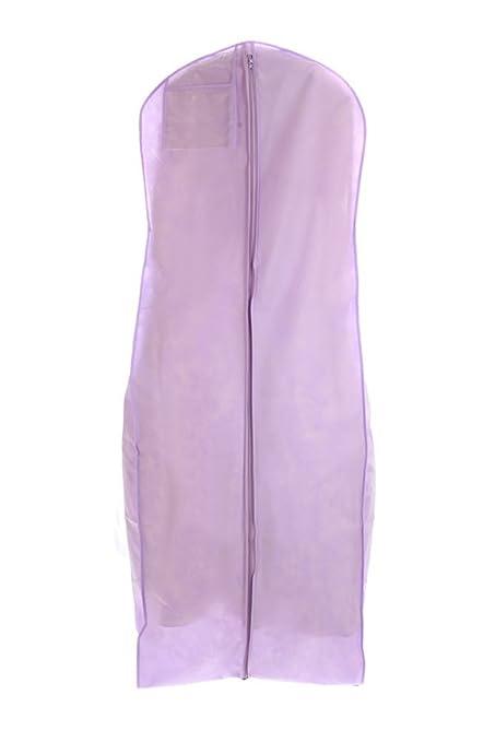 Amazon.com: Light Purple Wedding Gown Travel & Storage Garment Bag ...