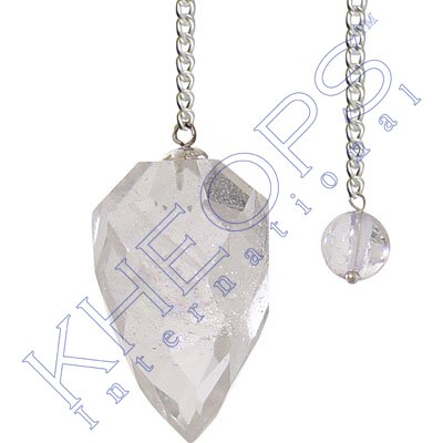 Pendulum Light Diffuser Clear Quartz (each)