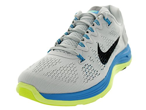 san francisco 341cb 5cad2 NIKE Lunarglide+ 5 Men Sneaker LT Base Grey Vivid Grey Vivid Blue Volt Black  599160-004 - Buy Online in UAE.   Shoes Products in the UAE - See Prices,  ...