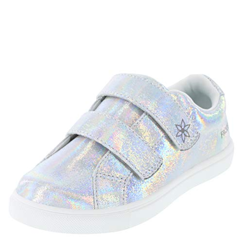 Frozen Iridescent Girls' Toddler Frozen Double Strap Casual 11.5 Regular