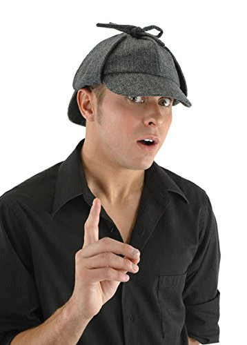 Sherlock Holmes Costume Deerstalker Hat For Adults -elope -