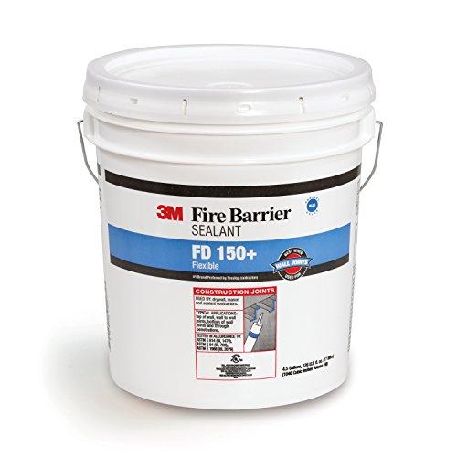 3M 11575 Fire Barrier Sealant FD 150+, Blue, Pail, 1/case, 4.5 gal