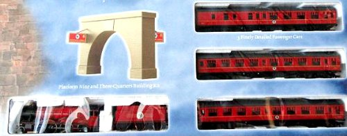(Harry Potter and the Sorcerer's Stone Hogwarts Express Ready-to-Run HO/OO Scale Electric Train Set)