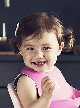 Powder Blue BABYBJ/ÖRN Baby Bib