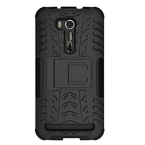 Slim Armor Hard Case for Asus Zenfone Go 5.5 ZB551KL (Black) - 1