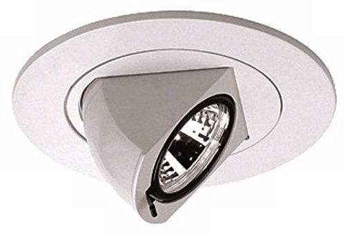 Nora 4' Low Voltage Adjustable Angle Recessed Light Trim