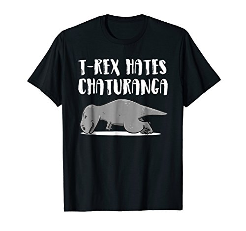 Funny T-Rex Dinosaur Yoga Shirts perfect present
