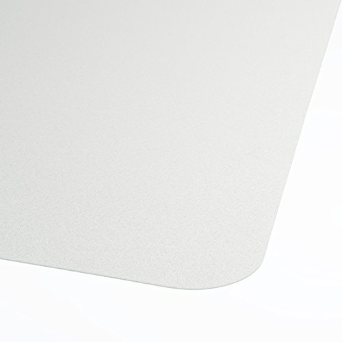 """Office Marshal® Premium Chair Mat with Lip - 36"""" x 48"""" - Hard Floor Protection - 100% Pure Polycarbonate, No-Recycling Material - Transparent, High Impact Strength"""