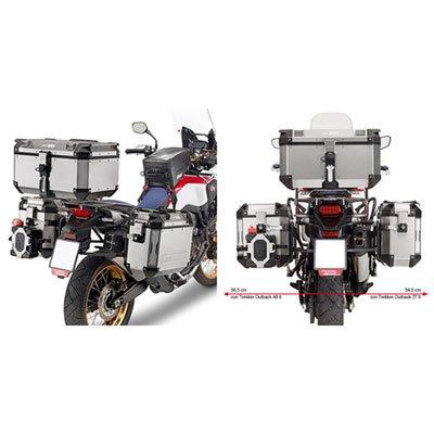Givi PL1144CAM Saddlebag Holder For Trekker Outback Cases - Honda CRF1000L Africa Twin (2016-17)