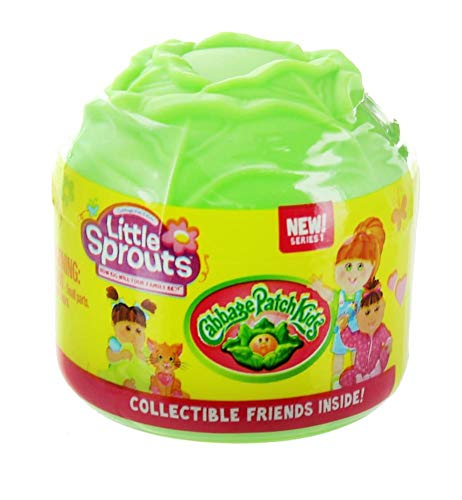 New! Cabbage Patch Kids Little Sprouts mini figures series 1