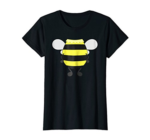 Womens Funny Bee Costume Easy Shirt - Honeybee