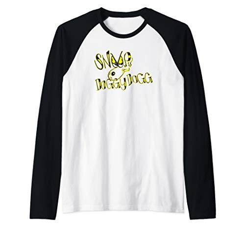 Death Row Records Snoop Dogg Doggy Style Logo  Raglan Baseball Tee (Snoop Dogg Clothing Line Rich & Famous)