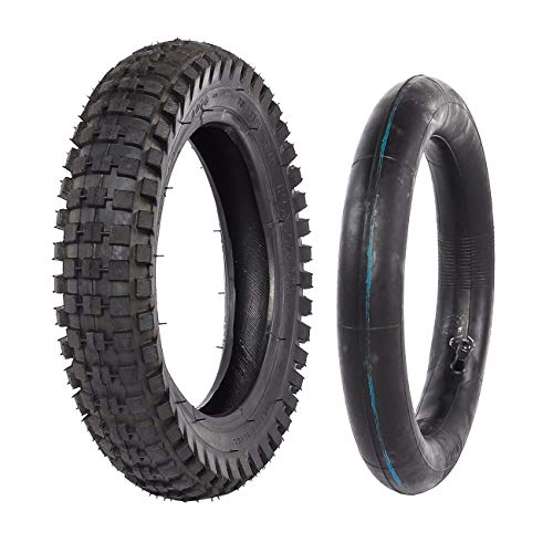 WPHMOTO 12.5 x 2.75 12 1/2 x 2.75 Dirt Bike Tire Inner Tube Mini Pocket Bikes Pit Bike Razor Rocket Dune Buggy