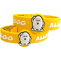 Egg Children's Medic Alert Allergy Awareness Bracelet