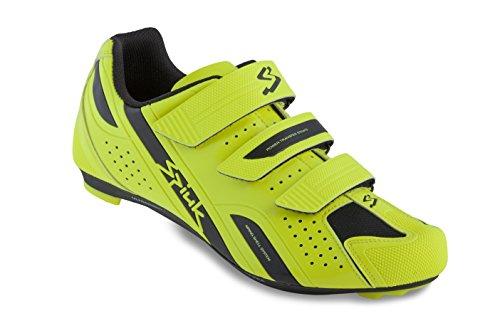 Spiuk Rodda Road - Scarpe unisex, colore giallo / nero, taglia 49