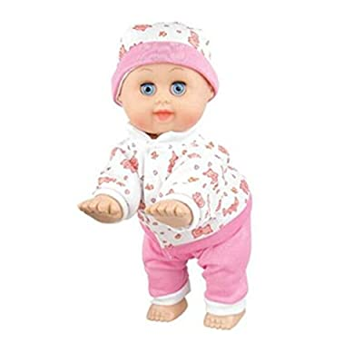 AxiEr 10inch Lovely Baby Infant Electric Music Crawling Baby Talking Singing Dancing Doll Early Learning Toy Education Toys