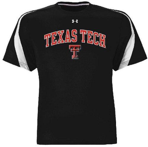 Texas Tech Red Raiders Black Zone III Under Armour Shirt (XXL)