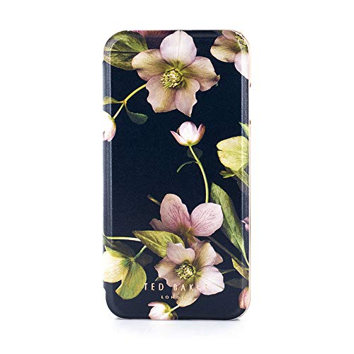- Ted Baker AW18 Fashion Mirror Folio Case for Apple iPhone 8/7, Protective Cover for Professional Women/Girls - Arboretum