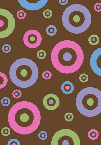 Concord Global Alisa DOTS IN DOTS BROWN 2'7