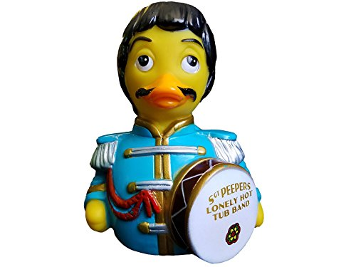 CelebriDucks Sargent Peepers Lonely Hot Tub Band Rubber Duck Bath Toy