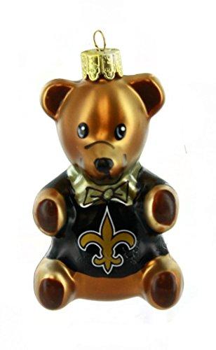 NFL NFL New Orleans Saints Teddy Bear Ornament