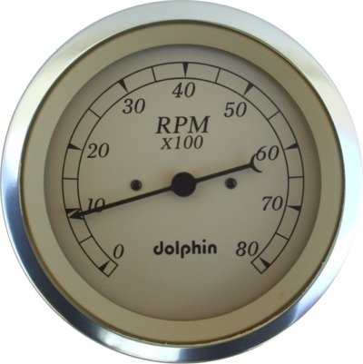 Dolphin Gauges 2 1 16 Electronic Tach